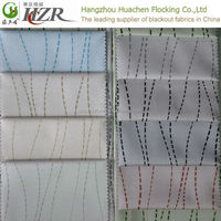 100% polyester material high quality attractive style used hotel drapes