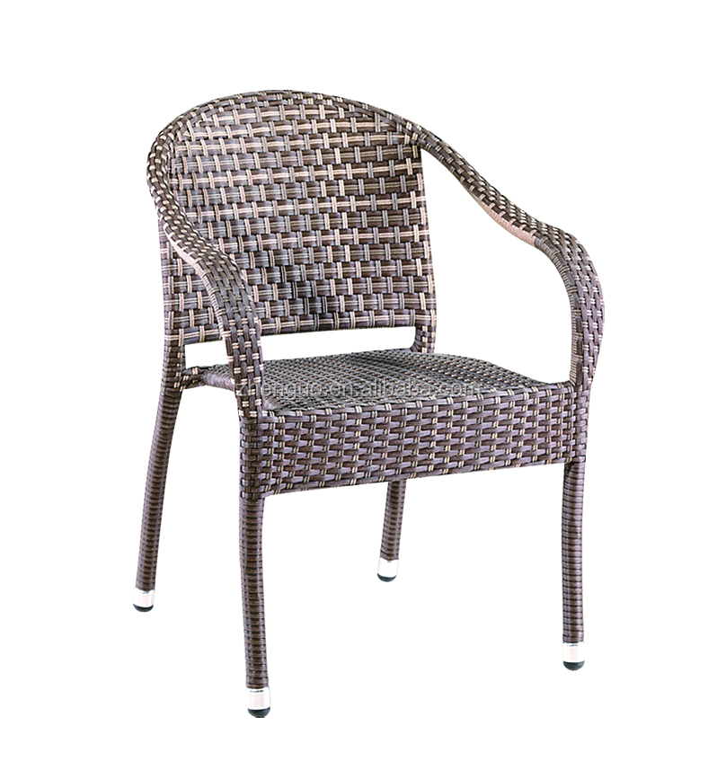 Comfortable rattan garden outdoor furniture chair UV-resistant king seater
