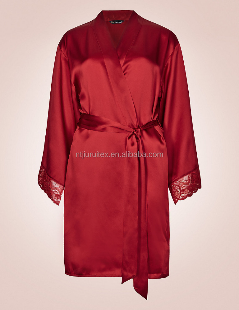 red satin dressing gown photo,images & pictures on Alibaba