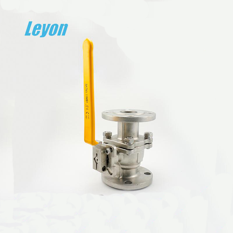 Low price manual stainless steel 2-pc safety valve fire safe standard fanged ball valve