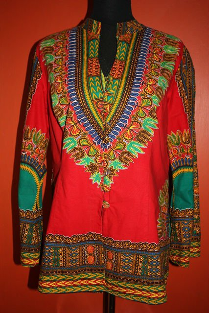 Dashiki Dress Top