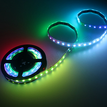 Arduino addressable ws2812b rgb pixel ws2811 led flexible strip - 144 Leds