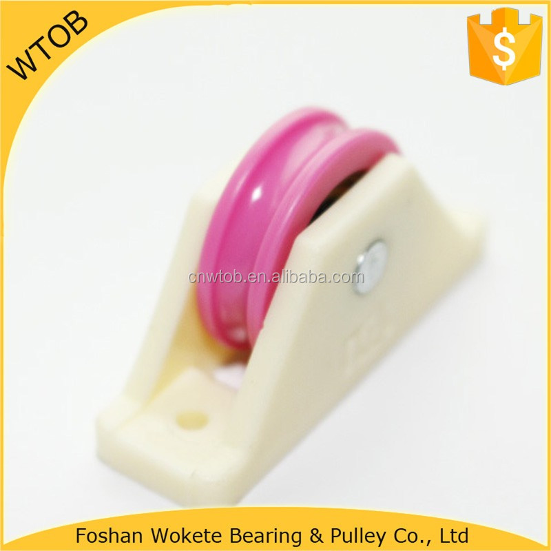 Small Roller Wheel with Screw Sliding Wardrobe Roller Wheel with Ball Bearing