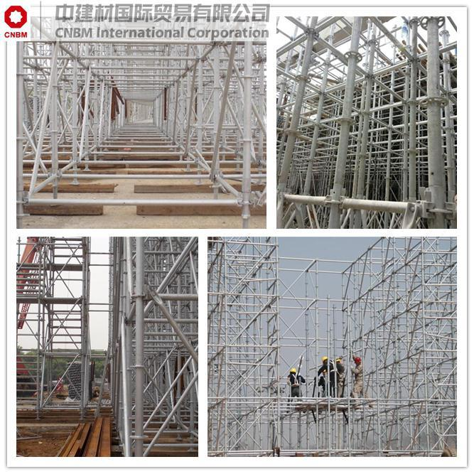 Scaffolding System kwikstage scaffolding with high quality