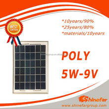 pv modules poly 5w solar panel 10v
