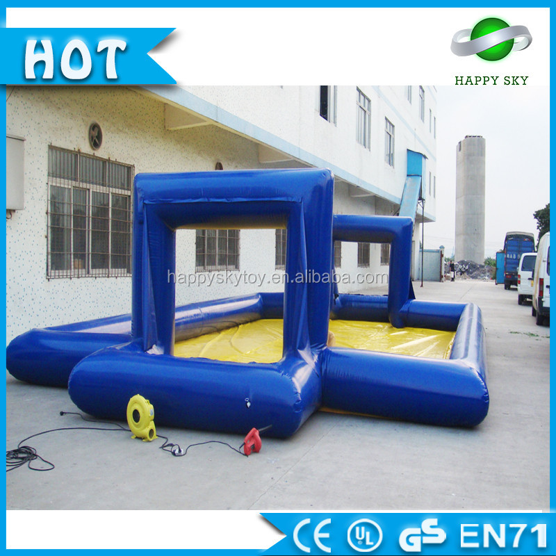 indoor inflatable playground football field balloon for sale 0.5mm PVC material