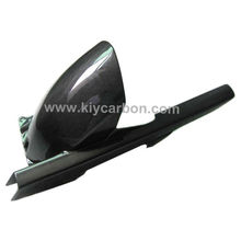 Carbon fiber rear fender with chain guard motorcycle part for Yamaha TDM 900