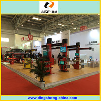 Auto garage equipment tyre four wheel alignment 3d DS6