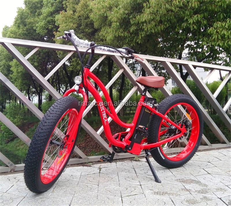 Fashionable and environment-friendly Chinese Dirt Bike motor two wheel fat tire electric bike RSEB506