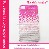hot selling crystal back case for iphone 5