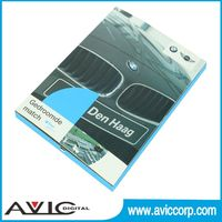 4.3inch, 5inch, 7inch promotional video card, video in print with hold for CD