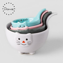 Cooking Tools cute cat porcelain ceramic measuring cup for baking