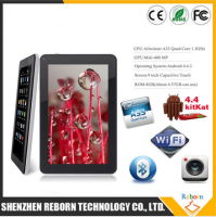 OEM Allwinner A33 Android 4.4 cheapest Tablet pc Quad Core 9 inch