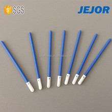 Factory Selling Blue Handle Clean Room Cleaning Foam Tip Swabs for Electronics Industrial