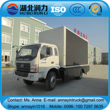 Foton 4x2 LED truck, LED advertising truck, LED mobile truck for sale