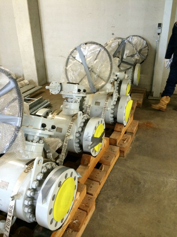 RMA Ball Valves DN150 PN210