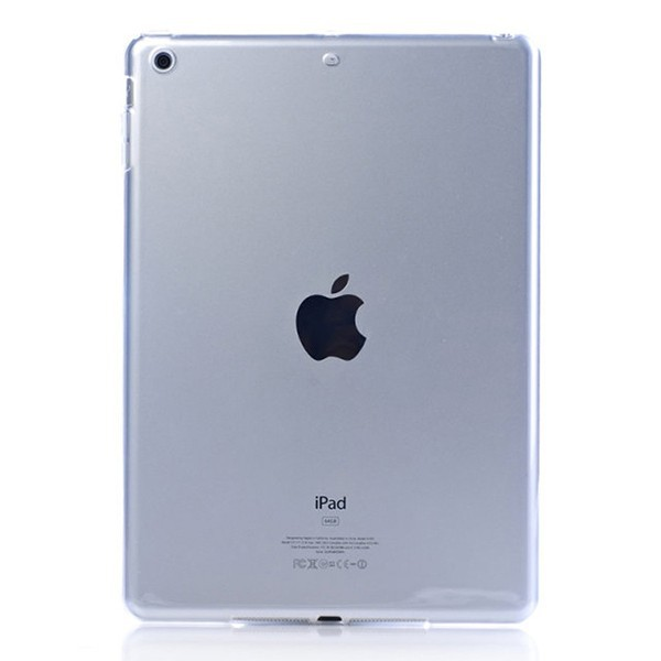 For iPad 5 Case , For iPad Air Transparent TPU Mobile Phone Case