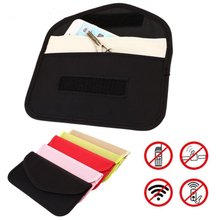 Universal Anti-radiation Bag, Anti-tracking Pouch Anti-spying GPS RFID Bag Wallet Phone Case