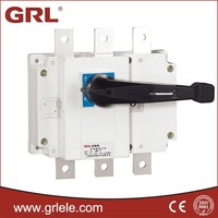 HGL-160A 3P or 4P red copper T3 visual window isolation switch 160a