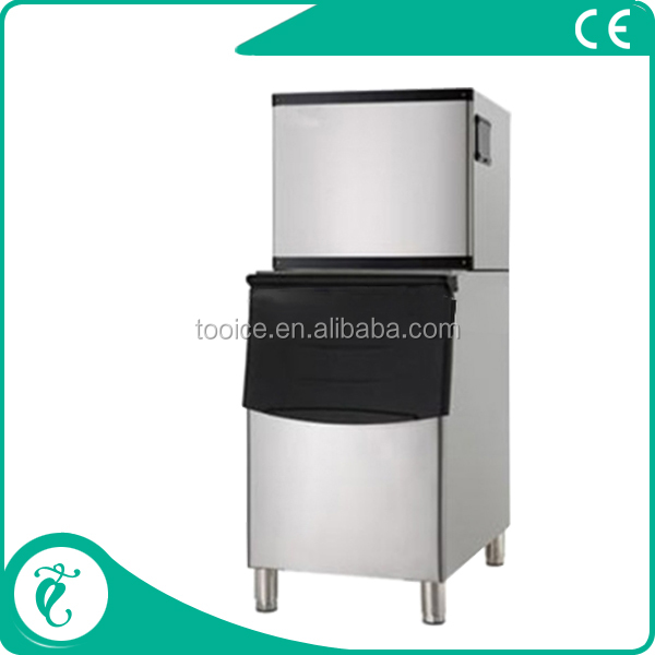 Large Ice Storage And High Capacity Cube Ice Maker