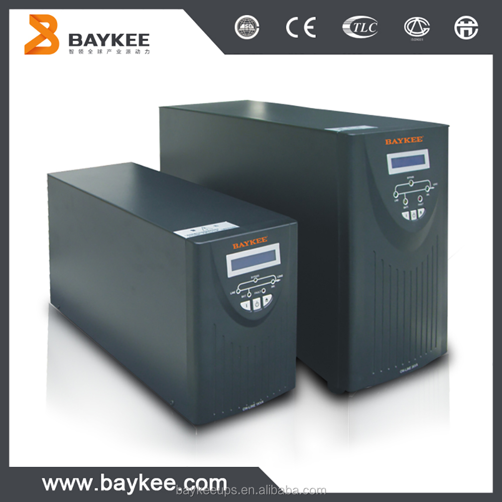 Baykee HD series pure sine wave line interactive ups external battery