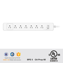Energy-saving American standard extension plug 110v power outlet power strip ac cord us extension socket