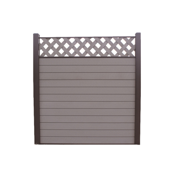 Wood plastic composite fencing - popular in Euro and better design than colorbond fence
