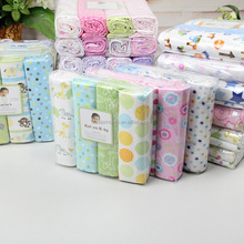 Hot Sale Baby Blanket Cobertor Bedding Set Baby 100% Soft And Comfortable Newborn Sheets 4 Count Flannel Receiving Blankets
