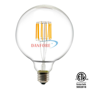 220V 110V 8W G150 Dimmable wholesale led bulb e27