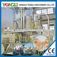 CE approved poultry feedmilling with pelletizing plant