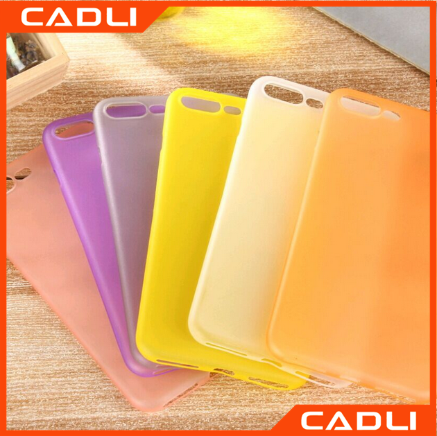 Ultra Thin Transparent Colorful Clear PP Soft Cover phone case for Apple iPhone 7