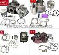 Hot sell motorcycle cylinder kit for WAVE125,WAVE110,BAJAJ PULSAR150,180,200,JUPITER,KRISS,SMASH,YBR125