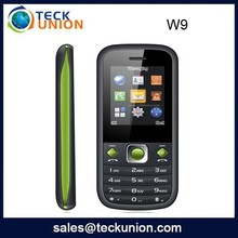 W9 1.8inch wholesale cheap bar phone with whatsapp