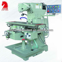 XQ6232 universal swivel head automatic feed for milling machines
