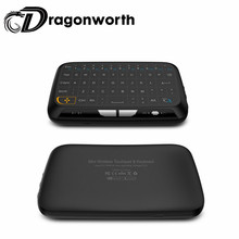 Air mouse H18 Mini arabic wireless keyboard 2.4GHz wireless touchpad full screeen