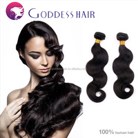 Qingdao Goddess hair 16 inch silky body wave virgin hair for ralphs laurens