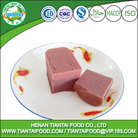 Delicate and delicious beef style luncheon meat