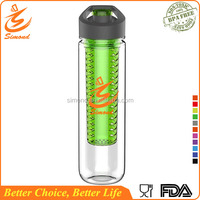 28 oz Brand new plastic fruit infuse drinking water bottle for Amazon