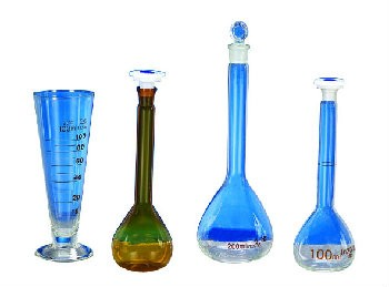 chemical laboratory glassware tube flask conical flask funnel