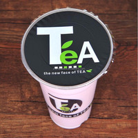 China manufactory high quality customized bubble tea plastic cup sealing film