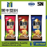 made in China ziplock plastic bag for dried food