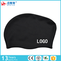 2017 hot selling girls long hair silicone swim caps swimming hat