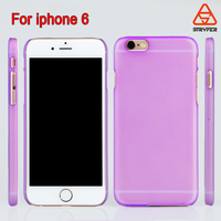 2016 Cell phone accessory Ultra Thin Clear Crystal Gel Soft rubber case for iphone 6 ,mobile phone case for iphone 6 64G CASE