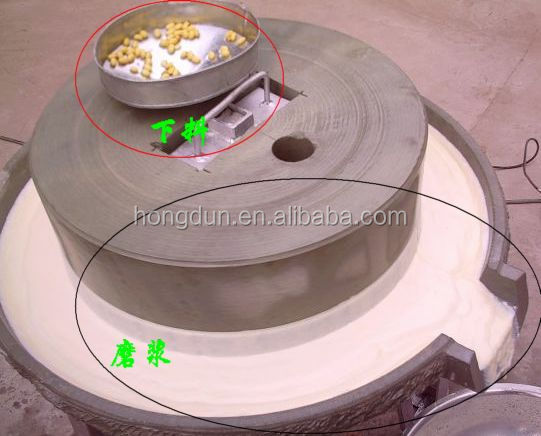 HD high efficiency antique flour stone mill for sale