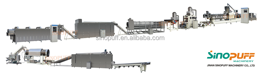 Sweet Corn Flakes Machine&Fully Automatic Corn Flakes Making Machine