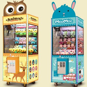 Earn Money Indoor Amusement Arcade Rides Toy Coin Operated Claw Crane Machine
