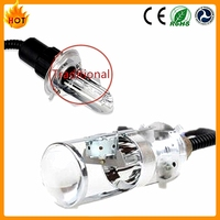 2016 New Mini H4 Bi xenon lens h4 hid light bulbs with projector lens