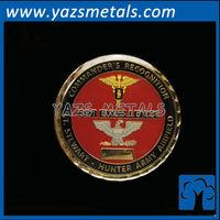 custom cheap military coin eagle, with design draft