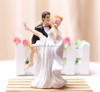 """Over the Threshold"" Cake Topper Figurine wedding cake decoration"