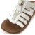 kids fancy sandals/hot chocolate design shoe/modern girl shoes